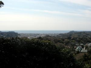 建長寺展望台からの眺め