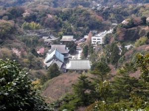 建長寺が見えます