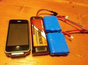 Li-Feとスティックバッテリーの比較