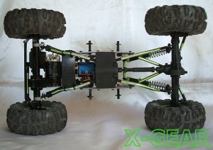 X-GEAR Two Motor System