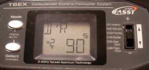 通常(MODL1・DR↓):CH2のD/Rを90%に
