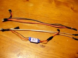 電動ガン用ケーブルで配線を再制作