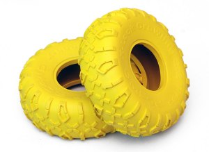 "X-Lock Crawler 2.2"" Colored Tires (Yellow)"