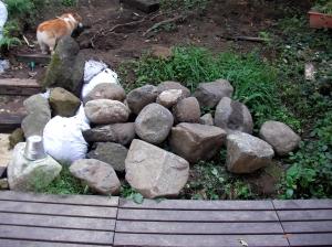 michiakiさんにいただいた岩たち