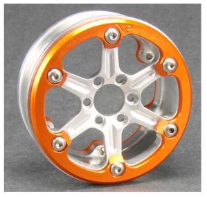 Vanquish SLW Silver x Orange