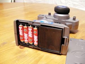 単三電池4本で動くプロポ