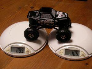 前後重量比を計測