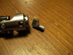 破損部品が取れました。