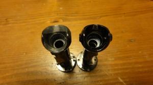 右:削る前のBeef Up、左:40度対応Bullly2